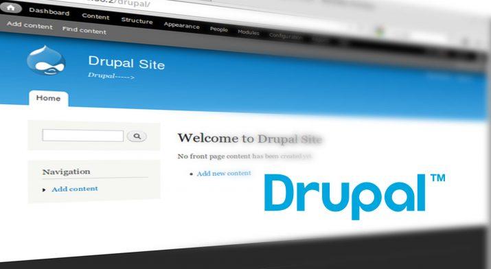Drupal 7 konfigurieren nach installation
