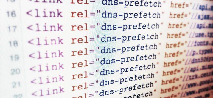 DNS Prefetching Quellcode